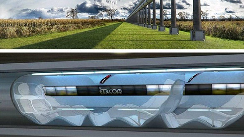 """ההמצאה החדשה של מייסד טסלה: רכבת וואקום במהירות של 610 קמ""""ש"""