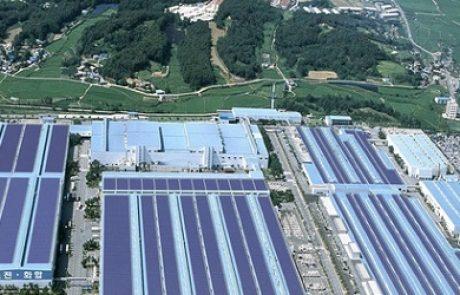 יונדאי הקימה שדה סולארי בהספק 10 מגה וואט מעל מפעלי הייצור שלה