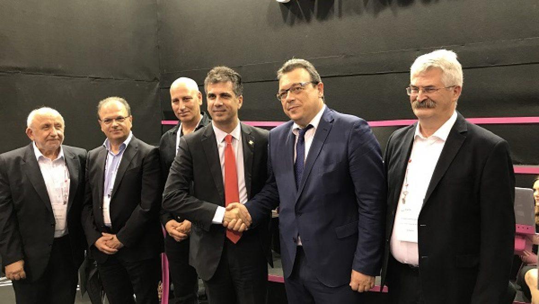שיתוף פעולה בין חברת טכנולוגיה ישראלית לתאגיד המים יווני