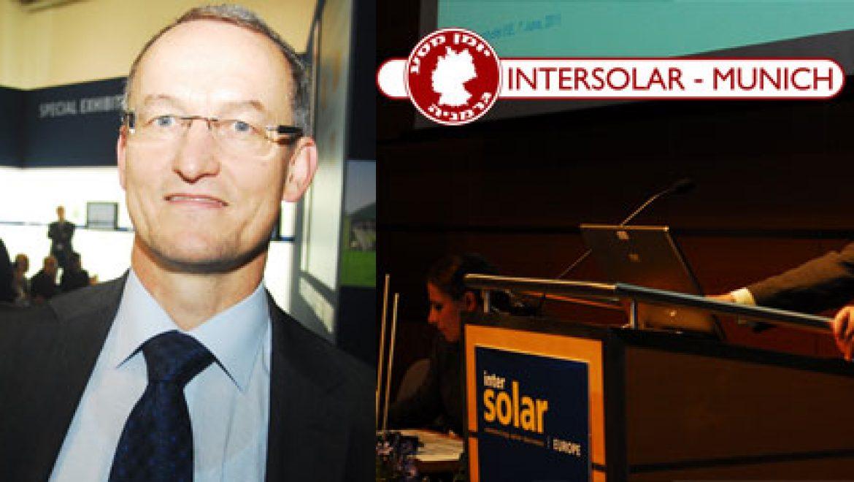 בלעדי: יועץ בכיר לאנרגיות מתחדשות בגרמניה: ב- 2050 נגיע ל-100% אנרגיות מתחדשות – צפו בוידאו!