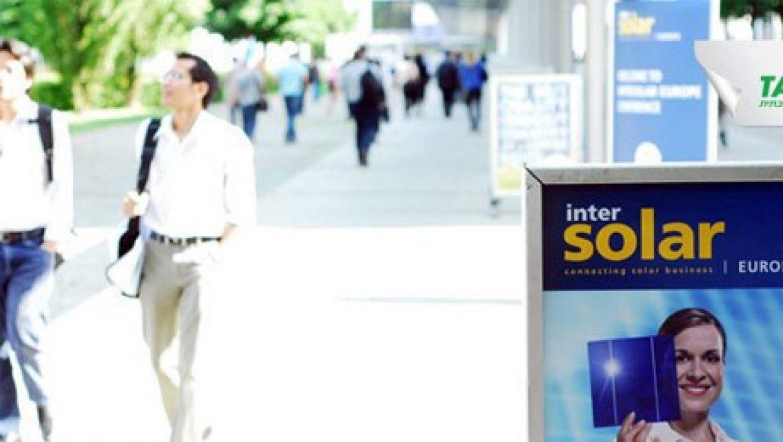 אלבום תמונות: צילומי פורטל תשתיות מתערוכת Inter Solar 2011