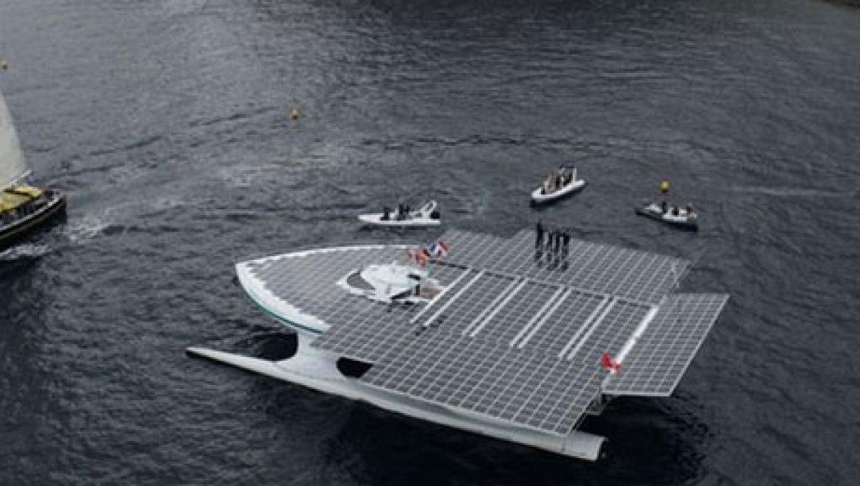 הספינה הסולארית פלאנטסולאר במסע מסביב לים התיכון