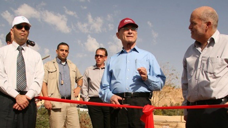 סיקור מיוחד: נחנך מרכז לאימות טכנולוגיות אנרגיה בת קיימא בערבה
