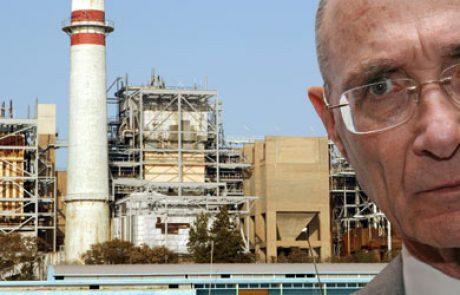 """שר התשתיות ממליץ להסמיך את חברת צומת אנרגיה בע""""מ להכין תכנית לתשתית עבור תחנת כוח פרטית שתופעל בגז טבעי"""