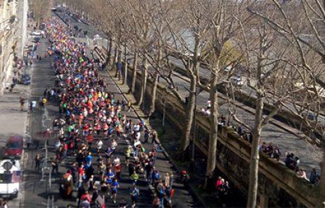 """דיווח אנרגטי:  מירוץ שניידר אלקטריק פריז 2016 כ57,000 רצים, 42 ק""""מ. טור מסע: ארנון מעוז"""