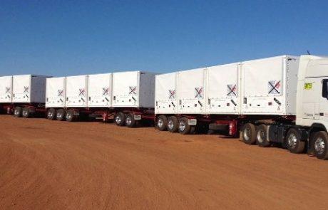 מכליות גז טבעי 3 TYPE מגיעות בפעם הראשונה לישראל