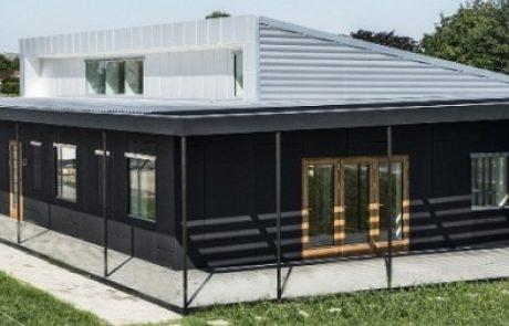 בנייה ירוקה במיוחד: צפו בבית שעשוי כולו מחומרים ממוחזרים