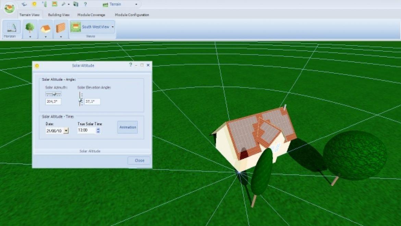 שימוש בתוכנות עזר לתכנון אופטימלי של מערכות פוטו-וולטאיות