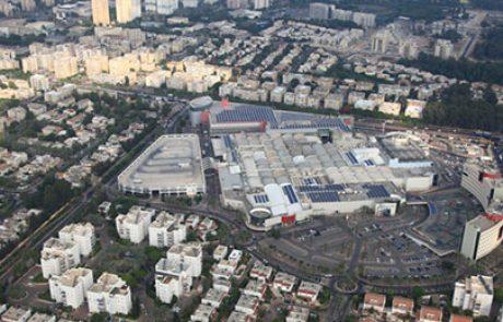 SBY חיברה לרשת החשמל מערכת סולארית בינונית על גג הקריון בחיפה