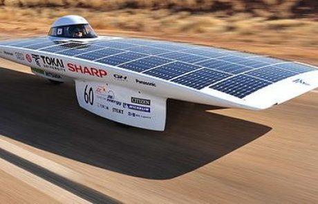 להקיף את העולם במכונית סולארית