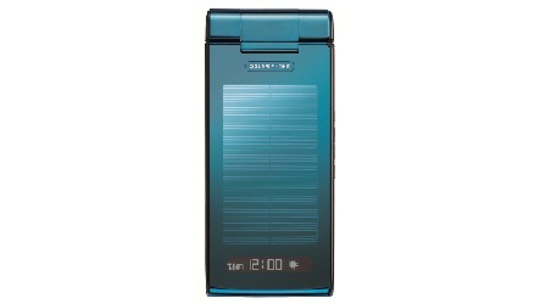שארפ מציגה טלפון נייד חדש סלולרי – סולארי
