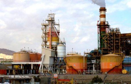 רשות הגז העניקה לתחנת הכוח במפעלי ים המלח אישור להזרמת גז טבעי