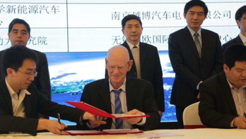 חברה ישראלית תתכנן ותספק תחנות החלפת מצברים לרכבים חשמליים בסין
