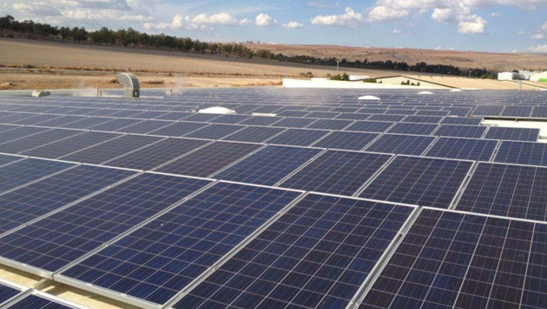 """קבוצת """"עוף טוב"""" הקימה על גג מפעל מערכת סולארית בהספק של כ-600 קילו-וואט"""