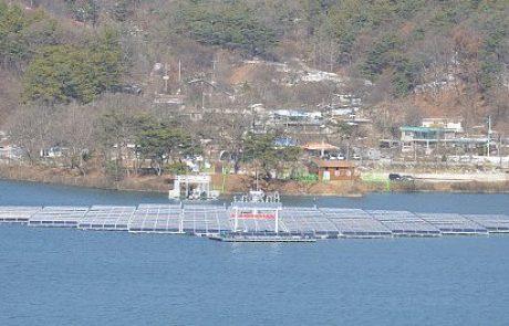 תחנת הכוח הסולארית הצפה הגדולה בעולם החלה להיבנות ביפן