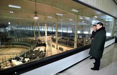 נשיא סין התרשם מטכנולוגיות החליבה והניהול של SCR הישראלית ברפת הגדולה בעולם