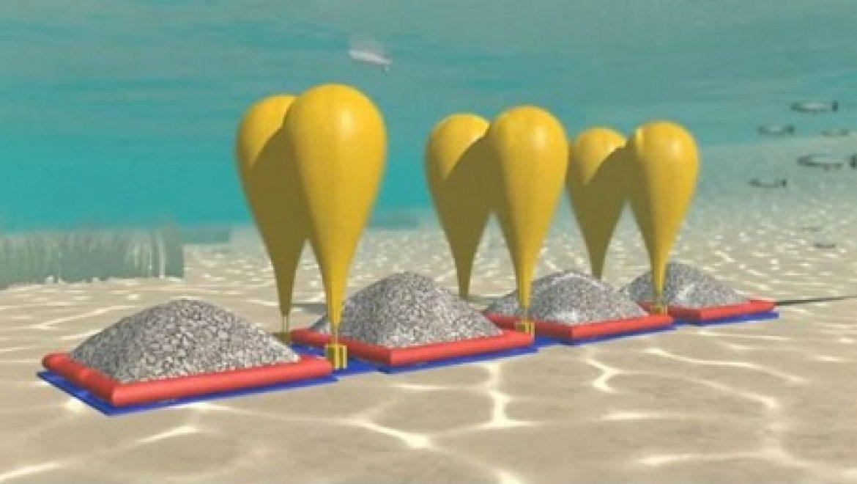 בלוני לחץ אוויר מתחת למים יאחסנו אנרגיה ירוקה?