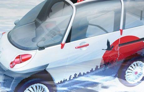 מכונית חשמלית צפה תשמור עליכם בזמן צונאמי