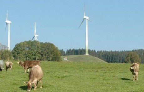 שתי חוות טורבינות רוח בצפון הארץ יחלו לפעול מסחרית לפני חג הפסח